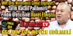 Enginyurt; 650 Bin Ton Rekolte Açıklamasıyla Tarım Bakanı Fındık Üreticisine İhanet Etmiştir