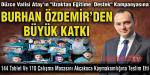 """VALİ ATAY'IN """"UZAKTAN EĞİTİME DESTEK"""" KAMPANYASINA BURHAN ÖZDEMİR'DEN BÜYÜK KATKI"""