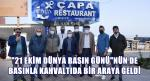 AK PATİ İLÇE BAŞKANI SARIOĞLU'NDAN YEREL BASINA KAHVALTI