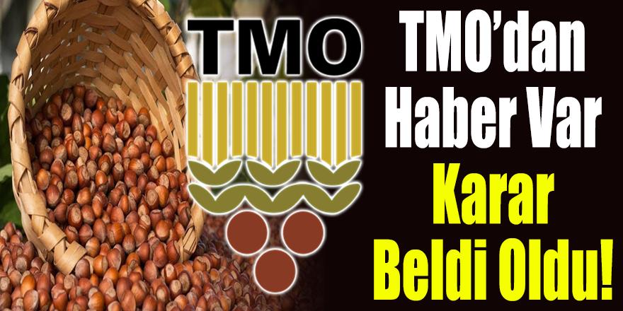 TMO'dan Haber Var, Karar Beldi Oldu!