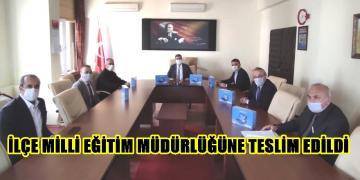 ATSO'DAN İMKANI OLMAYAN 55 ÖĞRENCİYE KLAVYELİ TABLET BİLGİSAYAR