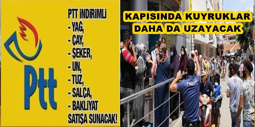 PTT AYÇİÇEK YAĞI SATACAK!